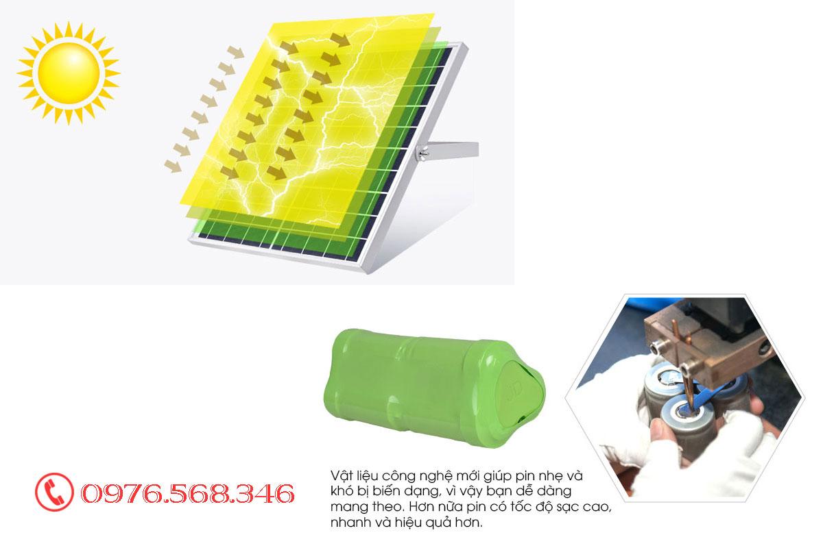 Đèn pha solarlght Jindian JD200W - 8200L giá rẻ