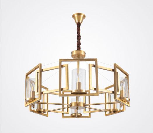 đèn chùm thả hiện đại