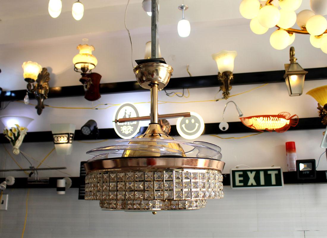 Đèn Quạt Trần Blutooth-B2098