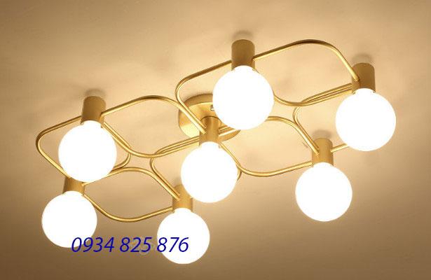 Đèn Áp Trần Thủy Tinh-LT208-7