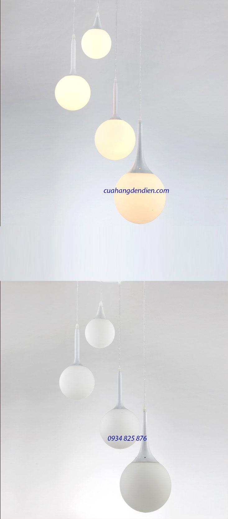 Đèn Thả Thủy Tinh-LT201