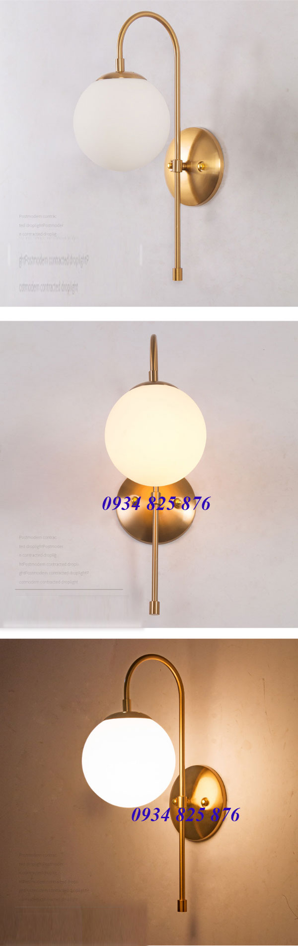 Đèn Gắn Tường Thủy Tinh-LT011-1