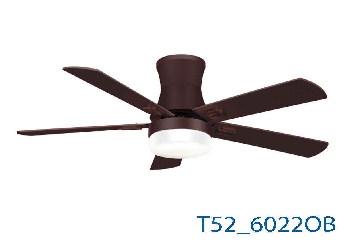 Đèn Quạt Trần Cánh Gỗ -TH6022