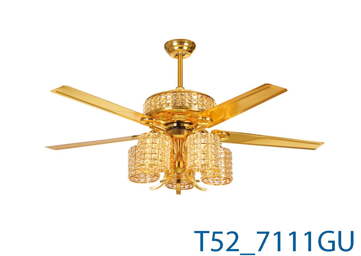 Đèn Quạt Trần Cánh Thẳng -TH7111