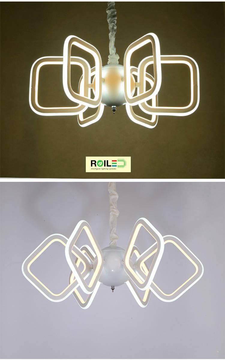 Đèn trang trí treo Acrylic RTH7079-6
